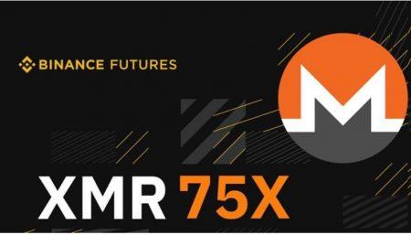 币安将上线门罗币 XMR 期货,最高可达 75 倍杠杆